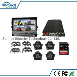 4channel scatola nera HD 1080P dell'automobile DVR veicolo mobile pieno dell'automobile DVR del kit del mini
