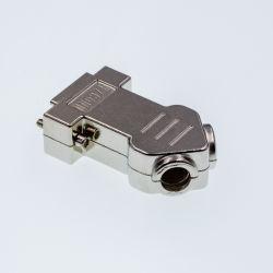 D-SUB capot métallique en alliage de zinc 9p/15p/25p/37p connecteur pour faisceau de fils et l'Assemblage de câble
