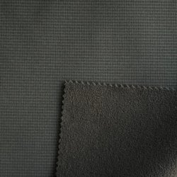 75D 4*10 Ripstop Kation 4 façon spandex polyester avec collée TPU et Laine polaire