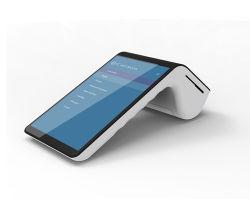 الجهاز اللوحي الطرفي المزود بشاشة لمس متعددة بنظام Android مع طابعة حرارية شاشة عرض مزدوجة طراز PT7003 مقاس 7 بوصات