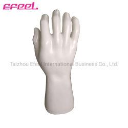 De fabriek verkoopt Ledenpoppen van de Hand van de Huid direct de Witte Plastic voor de Vertoning van de Handschoen