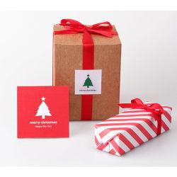 Noël Cadeau personnalisé de l'impression d'étanchéité adhésif autocollant