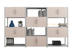 La colocación de múltiples de la Oficina de estilo moderno librero Archivador de estante de pantalla