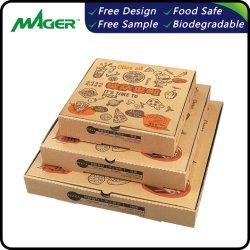 Conception personnalisée écologique à emporter Pizza Fast Food Box