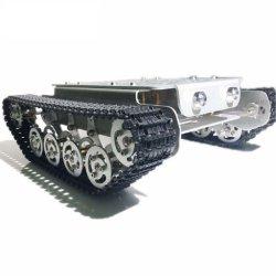 Serbatoio di comando remoto cingolato in metallo con ammortizzatore 4wd