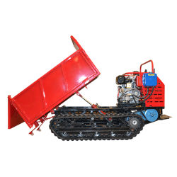 디젤 엔진 트랙 덤퍼 1,500kg 하이드로스테틱 공급업체