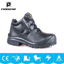 M-026 bon marché à la mode des chaussures en caoutchouc de lumière le travail militaire des chaussures de sécurité des gants de travail
