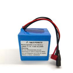 Batterie 12V 7.5ah Li-Ionbatterie des China-Fabrik-Lithium-18650 mit Ce/RoHS/MSDS Bescheinigungen