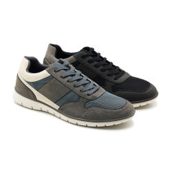 Qualität saugen Schweiss-Unterhalt auf, den warmer nicht Beleg Griff-Breathable im Freiensport-beiläufige Mann-Schuhe aufsaugen