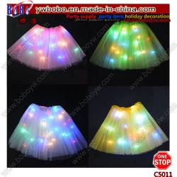 Voyant lumineux Parti de poule adulte Enfants Jeux de filles tulle jupe Tutu partie Costume de Danse Ballet (C5011)