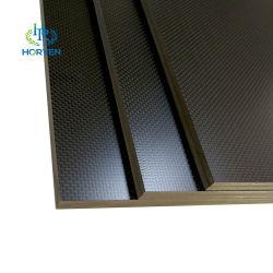 ورق عادي لامع عالي القوة معالجة سطحية غير لامعة ألياف الكربون صفيحة منسوج