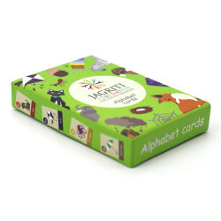 カスタム印刷紙のトランプはギフト用の箱が付いている楽しみのパーティー用のゲームのためのトランプゲームセットを詰められてセットした