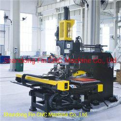 Стальные конструкции изготовление гидравлических высокоскоростной перфорирование сверлильный станок с ЧПУ для пластины 1500мм*775мм*25мм
