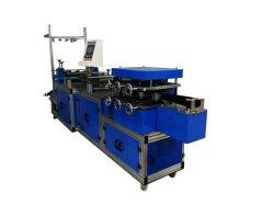 Pp niet Geweven Spunbonded en PE die Plastic HoofdGLB Machine met Elastiek maken