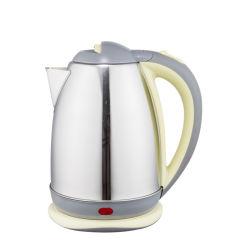 1.5L, 1.8L, 2.0L E-Smile Grey, Black, Red en Green Roestvast staal Elektrische Waterkoker voor melk, honing, thee, koffie en kook water selectie