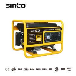 Sinco بقوة 3000 واط مولد الغاز المحمول/بدء التشغيل الكهربائي لمعدات الطاقة