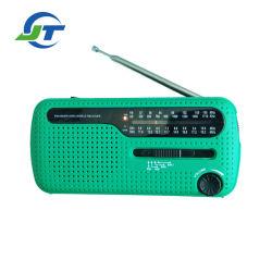 비상사태 Noaa 날씨 최고 밝은 LED 토치 태양 불안정한 다이너모 라디오