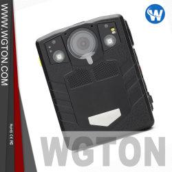 Прочная водонепроницаемая IP67 1296p GPS дополнительно полицейского органа изношенные камера для сотрудников правоохранительных органов