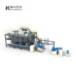 공장 생산 Hg - 3200 3200mm 섬유 PP Spunbond 비우븐 섬유 재활용 기계