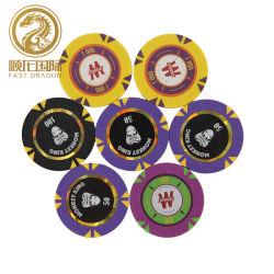 14G jogo de mesa do Casino de fichas de póquer Clay (DRA-GB1073)
