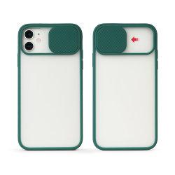 Противоударная камера защитные Verizon матового ползунок телефон крышка для iPhone 6 7 8 Plus Se2 11 PRO Max X Xs Xr Xs Max