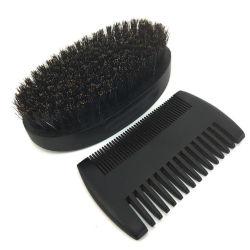 قطع أسنان المشط الشعر الخشبية المخصصة العناية بالشعر مجموعات الفرشاة والمشط