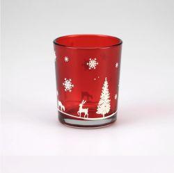 سعر المصنع: الأحمر ميركوري الزجاج كاندل هولدرز إلكتوبليت تيلايت كاندل