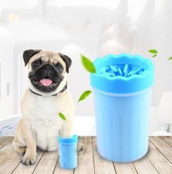 Pet portátil de la Copa de lavado Limpieza de silicona suave Limpiador de pata de perro