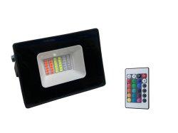 ضوء LED متغير الألوان RGB، ضوء غامرة 10 واط، مصباح خارجي مقاوم للمياه، مصباح غامرة LED لجهاز العرض RGBW