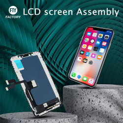 بيع المصنع شاشة اللمس مجموعة Digiziter أفضل سعر الهاتف المحمول شاشة OLED LCD لهاتف iPhone XS