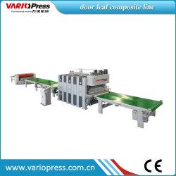 Linea di produzione di compound per pressare a freddo con porta in legno