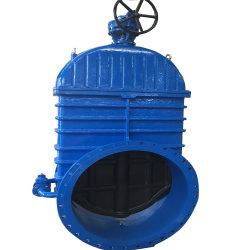 물 산업용 DIN F4 밸브 게이트 DN700-DN1200 사용