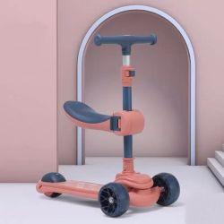 Scooter sportivo con 3 ruote e manubrio per la bilancia Kick