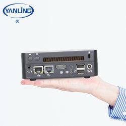 Design do ventilador 8 Gen Home Min computador PC I5 8250U I7 8550U 4*USB3.0 para o Office Home Educação