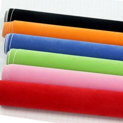 1,52x15m vinil PVC Auto Película Carro de veludo de Acondicionamento com adesivo de tecido