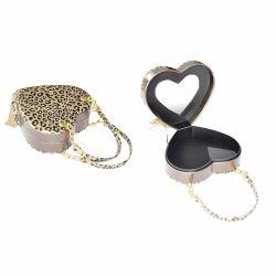 Caixa de jóias de couro jóias de Rolagem