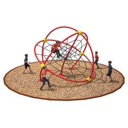 Los niños al aire libre niños Taladrados Ftness Metal equipo Net marcos para las escuelas de escalada