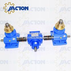 Более низкая стоимость Motor-Power движении электрического домкрата, подъема платформы винт домкрата для подъема платформы