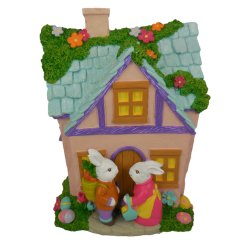 Caricatura de resina de polipropileno Charactor casa modelo modelo de recogida de juguetes