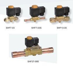 """3/8"""" медные трубы зарядки холодильной установки электромагнитного клапана"""