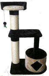 Árbol robusto Gato Gato Gato Muebles Casa de jugar el sisal