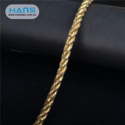Hans Cheap Gold Rideau décoratifs tressés Corde tordue de croix
