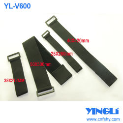 Crochet et boucle élastique avec boucle de ceinture de blocage de bande