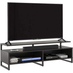 Televisor Black Oak - suporte moderno minimalista Pacote plano fácil de montar Suporte para TV 0499