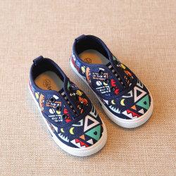 따뜻한 세일 맞춤형 키즈에는 캐주얼 플랫 캔버스 베이비 가 제공됩니다 신발(FFRK-24)