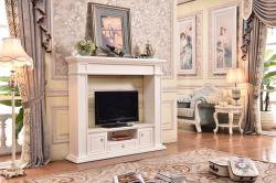Meuble TV avec foyer électrique avec chauffage d'insertion de Mantel Mantel