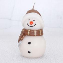Venta caliente muñeco de nieve velas para regalos