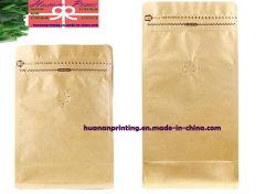 Bolsa de papel para café envasado.