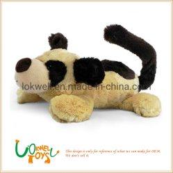 푹신한 동물 아이 선물에 의하여 주문을 받아서 만들어지는 사랑스러운 인형을 채우는 견면 벨벳 장난감