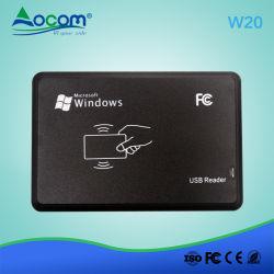 ISO14443 Typea/B ISO15693のプロトコルのためのOcom W20 RFIDチップカード読取り装置著者